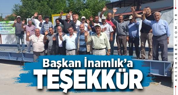 Tavas Belediyesine Altınova'dan Teşekkür