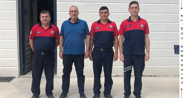 Başkan Arslan'dan İtfaiye Ekiplerine Ziyaret
