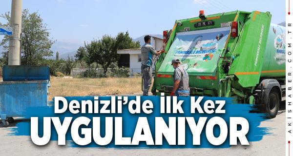 Pamukkale Belediyesi Çevre Konusunda Önemli Çalışmalara İmza Atıyor