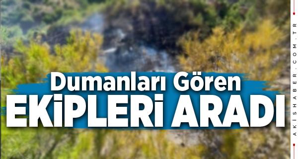 Denizli'de Orman Yangınında 2 Hektar Zarar Gördü
