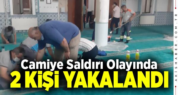 Denizli'de Camiye Saldıranlar Mobeseye Takıldı