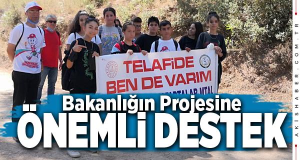 Pamukkale Anafartalar MTAL Doğa Yürüyüşü Yaptı
