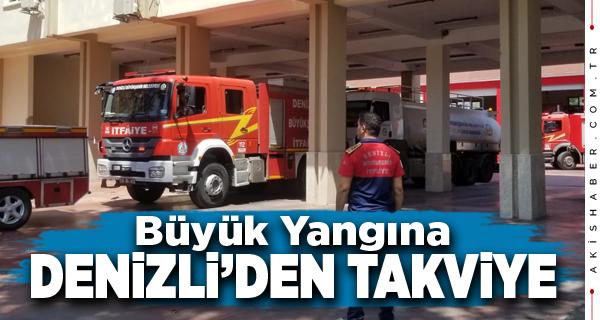 Büyükşehir Ekipleri Manavgat Yangın Bölgesine Ulaşıyor