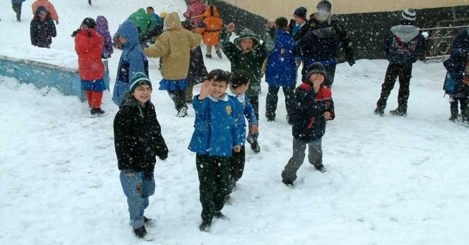 Denizli'de Okullar Tatil Edilmedi