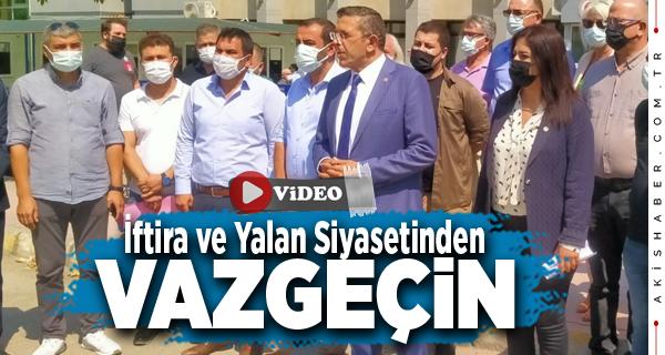 İYİ Parti Denizli Teşkilatlarından Cahit Özkan'a Suç Duyurusu