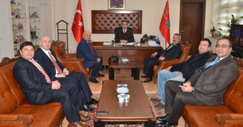 Pamukkale MHP'den Müdür Demir'e Ziyaret