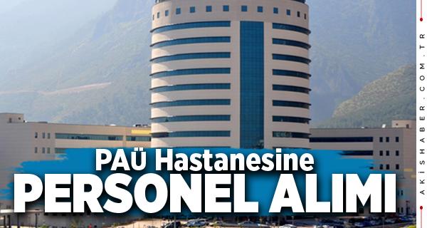 PAÜ Hastanesi 12 Personel Alacak