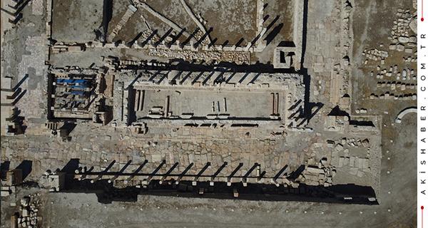 Denizli'deki Kazılarda 2 Bin Yıllık Devasa Sistem