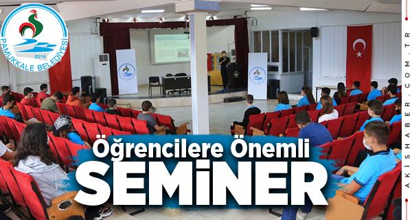 Pamukkale Belediyesi'nin Semineri Öğrencileri Memnun Etti