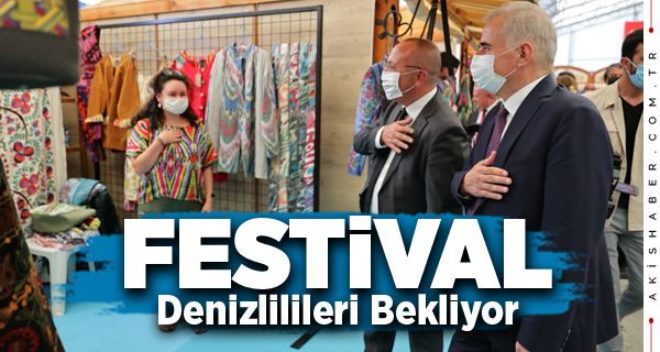 Denizli'nin En Renkli Festivali 1 Hafta Açık Kalacak
