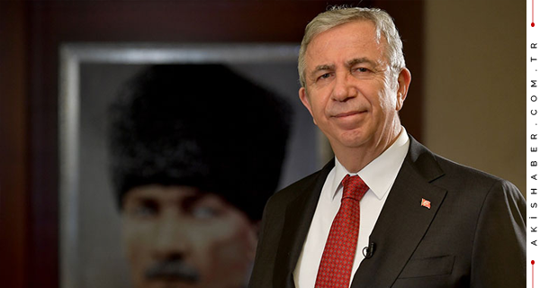 2021 Dünya Belediye Başkanı Başkent Ödülü Mansur Yavaş'ın