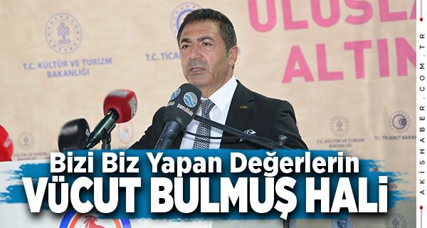 Başkan Erdoğan Ahilik Haftası Kutlamalarında Konuştu
