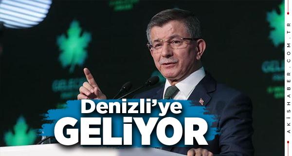 Ahmet Davutoğlu Denizli'ye Geliyor