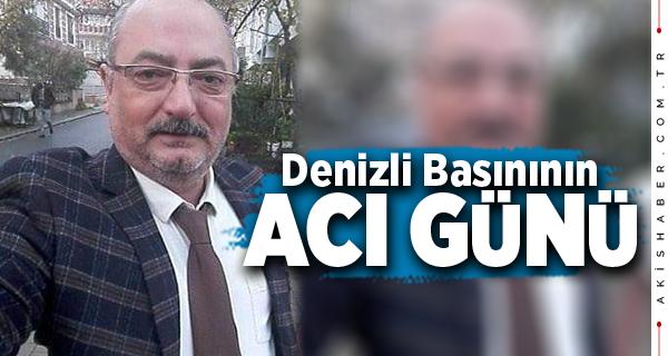Denizli'de Gazeteci Erol Kes Vefat Etti