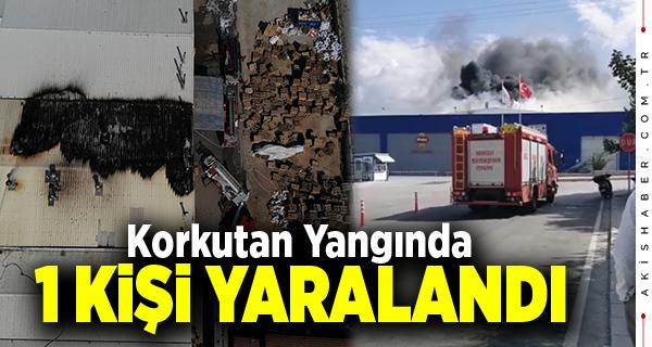 Başkan Tefenlili'nin Fabrikasında Yangın