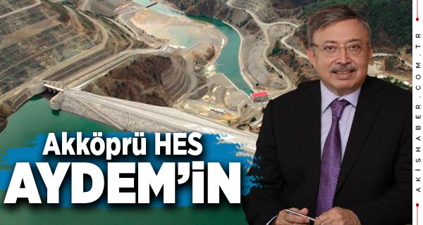 Aydem Akköprü HES'i 49 Yıl İşletecek