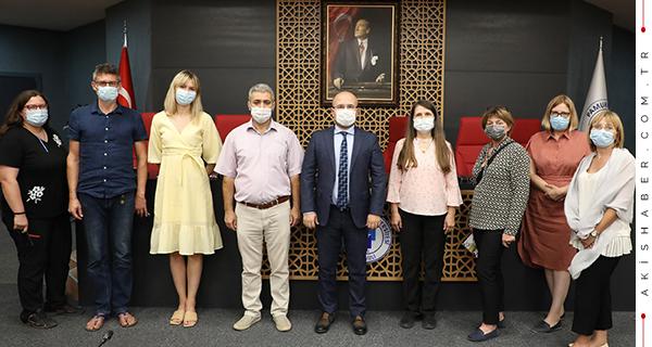 PAÜ BİYOM, Polonyalı Bilim İnsanlarını Ağırladı