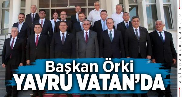 Başkan Örki Kardeşlik Protokolü İmza Töreni'ne