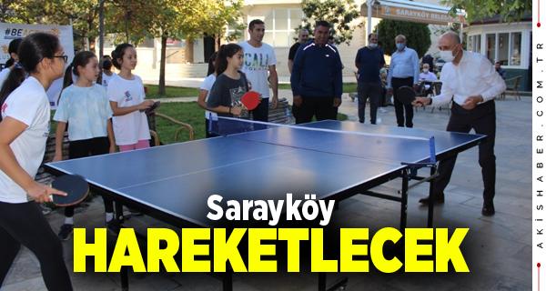 Sarayköy'de Spora Teşvik Etkinlikleri Yapılacak