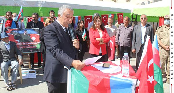 Kardeş Azerbaycan'ın Şehitleri Unutulmadı