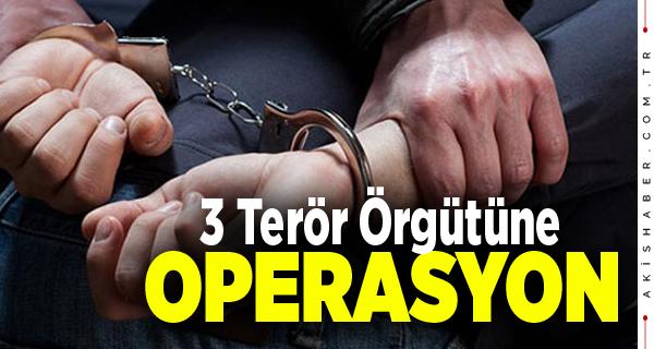 Denizli'de Terör Operasyonlarında 2 Tutuklama