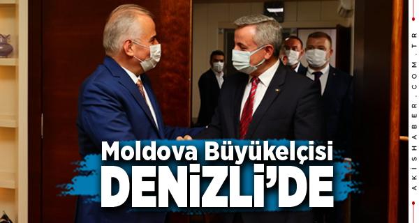 Başkan Zolan Moldova Büyükelçisini Ağırladı