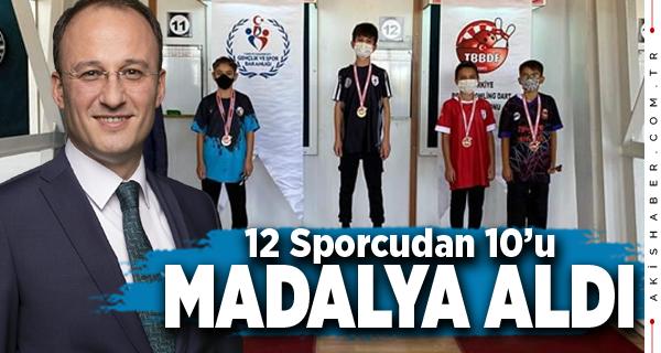Pamukkale Belediyespor Dart Şampiyonasına Damga Vurdu