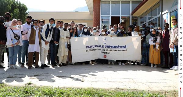 Uluslararası Öğrenciler PAÜ'yü Tanıdı