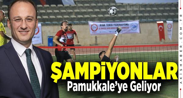 Pamukkale Belediyesi İlklere İmza Atıyor