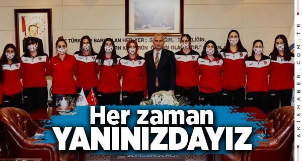 İlk Maç Öncesi Başkan Zolan'a Ziyaret