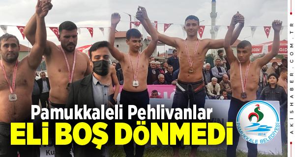 Pamukkale Belediyesporlu Sarı Yine Madalya Aldı