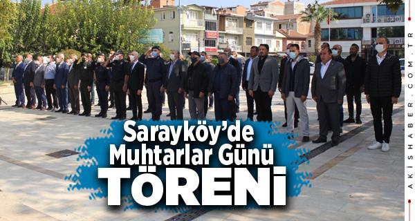 Sarayköy Belediyesinden Muhtarlar Günü Yemeği