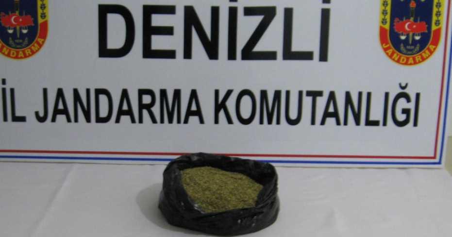 Honaz'da Uyuşturucu Operasyonu