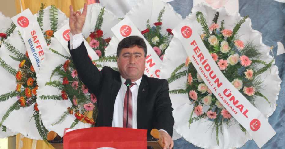 MHP Çivril'de Bayram Gümüş'e Emanet