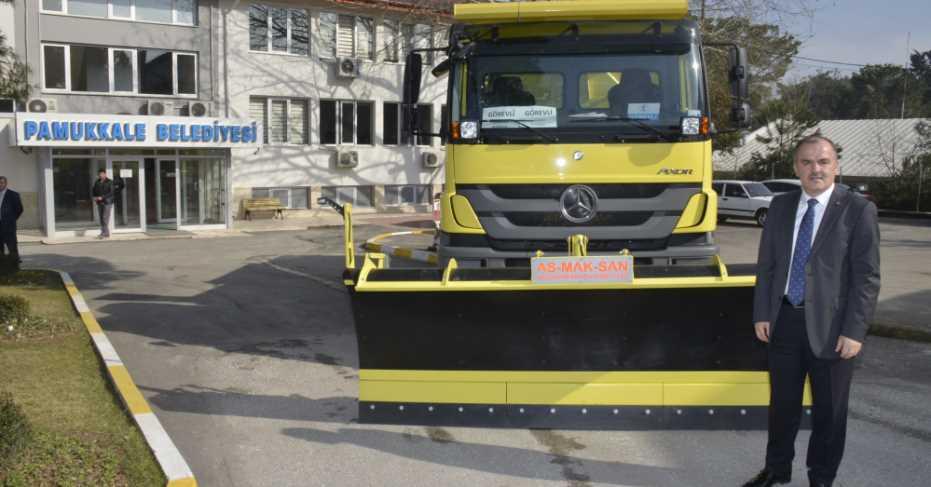Pamukkale Belediyesi, Araç Filosunu Genişletiyor