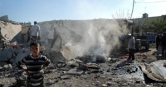 Suriye'de Pazar Yerine Bomba: 160 Ölü!