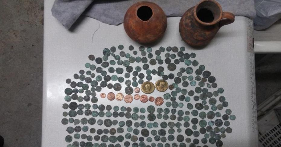 Denizli'de Roma Dönemine Ait Tarihi Eser Ele Geçirildi