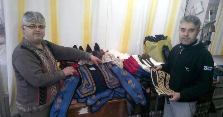 Tavas'tan Arabistan'a Zeybek Kostümü