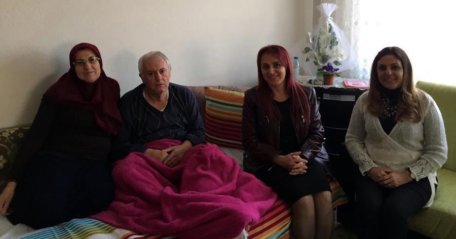 320 Hastayı Evlerinde Ziyaret Ettiler