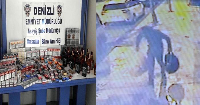 Büfeden Hırsızlık Anı, Güvenlik Kamerasında