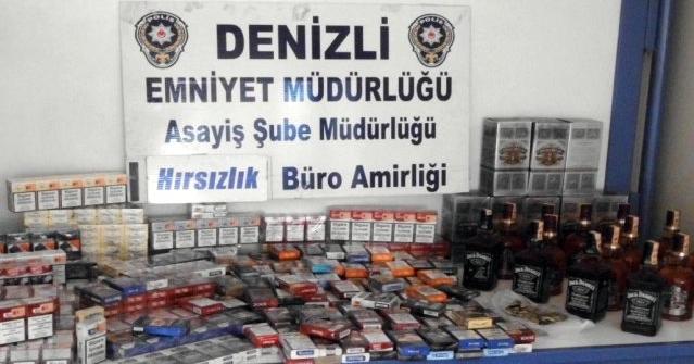 Denizli'de 7 Hırsızlık Şüphelisi Yakalandı