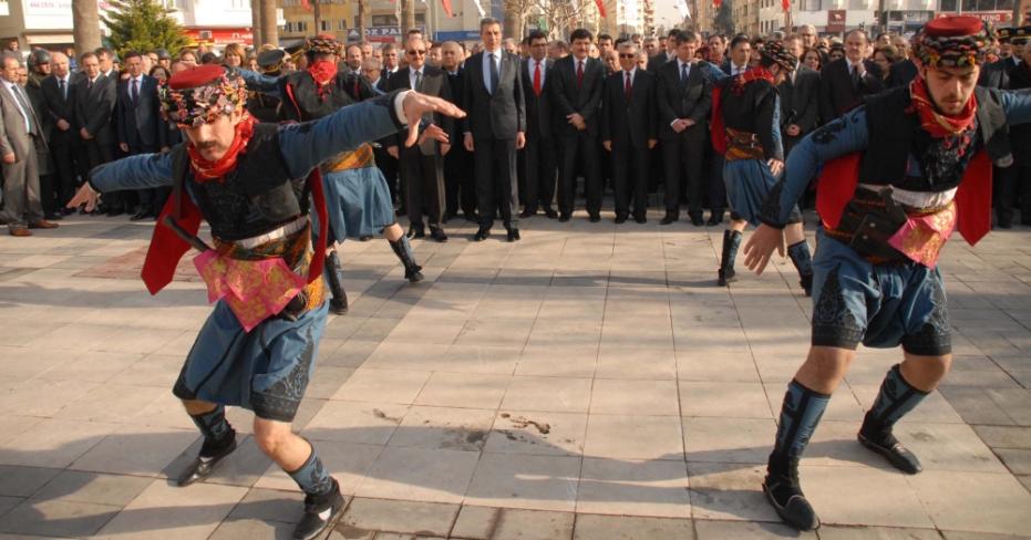 Atatürk'ün Denizli'ye gelişinin 84'üncü yılı kutlandı
