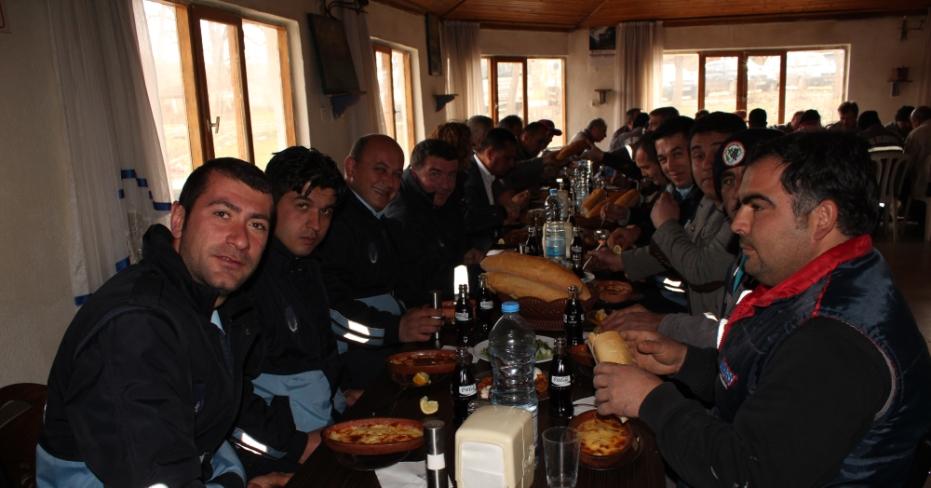 Başkan Akcan, Personeline Teşekkür Yemeği Verdi