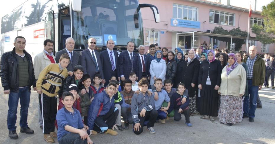 Pamukkale Belediyesinden Öğrencilere Ödül