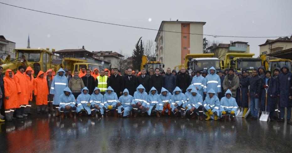 Pamukkale Belediyesi 50 Araçla Mücadeleye Hazır