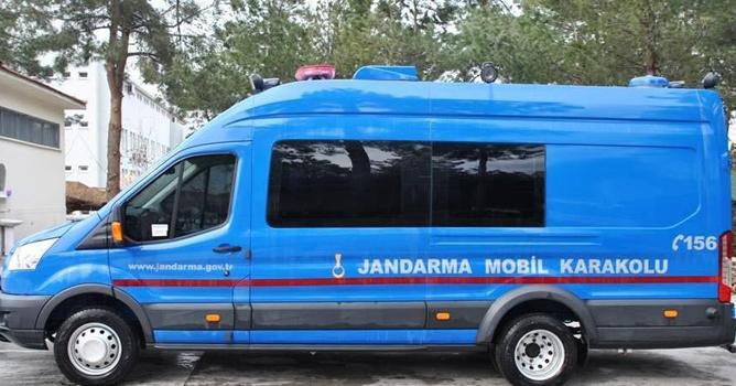 Denizli Jandarmasından 3 Mobil Karakol