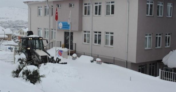Denizli'de Okullar 11 Şubat'ta Kar Tatili