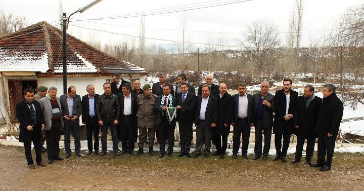 Denizlispor'dan Başkan Akcan'a İadeyi Ziyaret