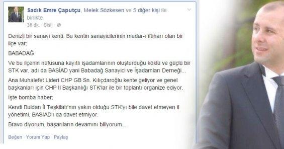 CHP Yönetimine Bomba Gibi Bir Eleştiri