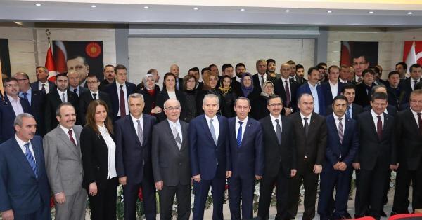 """AKP Denizli İl Başkanı Tin, """"Seçimlere Hazırız"""""""